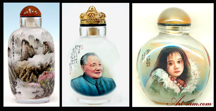 Inside Painted Snuff Bottles