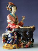 Figurine Chinese Oriental Beautiful Lady