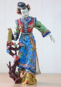 Chinese Oriental Ceramic / Porcelain Lady Figurine Great Beauty