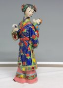 Mother & Child Infant Baby Chinese Porcelain Figurine Ceramic Sculpture