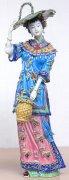 Ceramic Figurine Ancient Great Beauty Woman - Dream Of Red Chamb