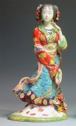 Ceramic / Porcelain Figurine Master Ancient Chinese Great Beauty