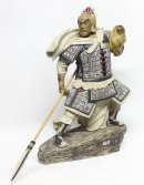 "Chinese Warrior Hero The Three Kingdoms ""Zhao Yun"" Figurine"