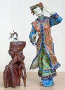 Chinese Ceramic / Porcelain Figurine Ancient Chinese Great Beaut