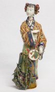 Chinese Ceramic Porcelain Woman Figurine Masterpiece Collection