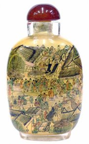 Snuff Bottle Collection - Life In Ancient Qing Dynasty