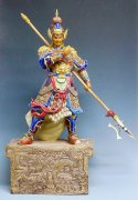 Chao Yun Zilong The Romance Three Kingdoms Ceramic Porcelain Fig