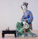 Dream Of The Red Chamber - Oriental Great Beauty Ceramic Lady Fi
