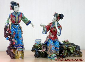 Dream Of The Red Chamber - Oriental Great Beauty Sister Ceramic