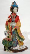 Porcelain figurine master Ancient Chinese great beauty woman