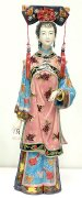 Qing Dynasty Lady - Shiwan Chinese Ceramic Lady Figurine LARGE