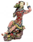 Figurine - Chinese Oriental Lady Celebration