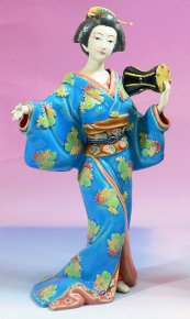 Japanese Kimono Geisha - Exclusively Master Collection Figurine