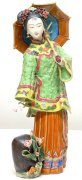Ancient Chinese Lady - Handemade Shiwan Ceramic Doll