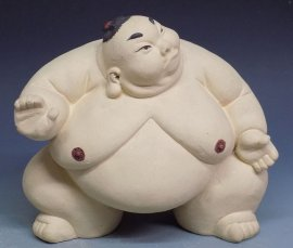 Ceramic Doll Figurine Statue Japanese Sumo Exclusive Collection