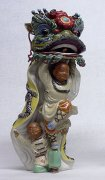 Masterpiece Ancient Chinese Traditional Lion / Dragon Dance Cera