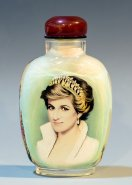 Princess Diana - Collection Inside Painted Snuff Bottle