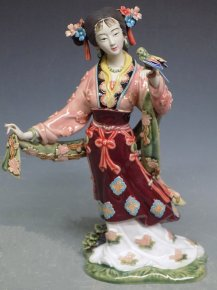 Dream of the Red Chamber - Chinese Ceramic Lady Figurine